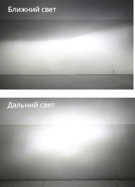 Как светит Carlamp Night Vision