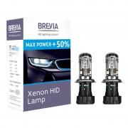 Ксеноновые лампы BREVIA H4 5500K Max Power +50% (12450MP)