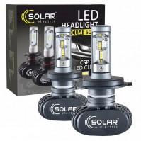 Светодиодные лампы SOLAR H4 12/24V 6000K 4000Lm 50W Seoul CSP (8104)