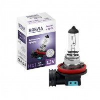Галогеновая лампа BREVIA H11 POWER +30% 12011PC