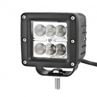 Доп LED фара BELAUTO BOL0604F 2400Лм (рассеивающий)