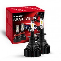 Светодиодные автолампы H1 CARLAMP Smart Vision Led для авто 8000 Lm 6500 K (SM1)