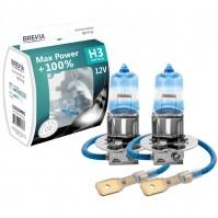 Галогеновые лампы BREVIA H3 MAX POWER +100% 12030MPS