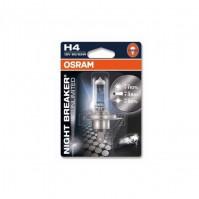 Галогенная лампа Osram H4 12V 55W Night Breaker Unlimited (64193NBU-BLI)
