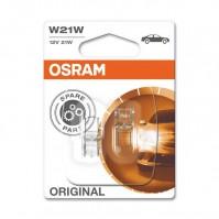 Лампы накаливания OSRAM W21W 12V 21W W3x16d ORIGINAL (7505-BLI2)