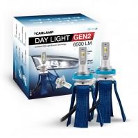 Светодиодные автолампы H11 CARLAMP Day Light GEN2 Led для авто 6000K 6500Lm ZES (DLGH11)