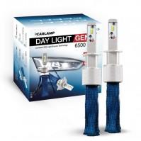 Светодиодные автолампы H1 CARLAMP Day Light GEN2 Led для авто 6000K 6500Lm ZES (DLGH1)