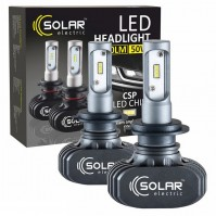 Светодиодные лампы LED SOLAR H11 12/24V 6000K 4000Lm 50W Seoul CSP (8111)