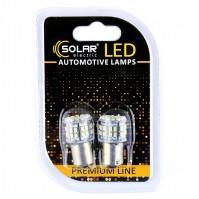 Светодиодные LED автолампы SOLAR Premium Line 12V S25 BA15s 50SMD 3030 white блистер 2шт (SL1385)