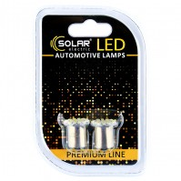 Светодиодные LED автолампы SOLAR Premium Line 24V G18.5 BA15s 22SMD 3020 white блистер 2шт (SL2581)
