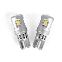 Светодиодные лампы Carlamp W5W Canbus 6000 K 300 лм для габаритов с обманкой (5GS5-T10)