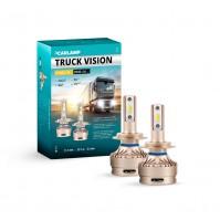 Светодиодные лампы H7 Carlamp Truck Vision Led для грузовых авто 24В 3500LM 6000K (TVH7)