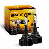 Светодиодные автолампы H1 CARLAMP Smart Vision Led для авто 8000 Lm 4000 K (SM1Y)