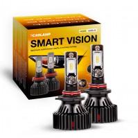 Светодиодные автолампы HB3 CARLAMP Smart Vision Led для авто 8000 Lm 4000 K (SM9005Y)