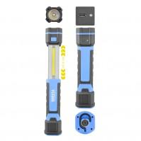 Фонарь для Кемпинга светодиодный для рыбалки или дома Brevia 3W COB+1W LED 300lm 2000mAh (11340)