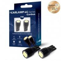 Светодиодные лампы Carlamp W5W Canbus 6000 K для габаритов с обманкой (T103020)