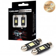 Светодиодные автолампы CARLAMP C5W Софитка+canbus Т11x41 мм (SJ-K6-41мм)