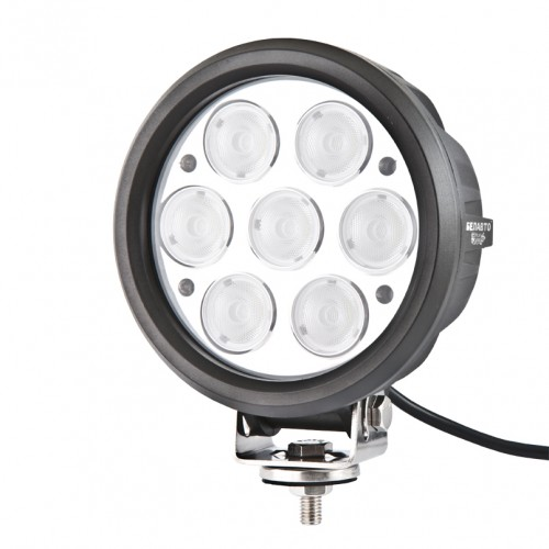 Доп LED фара BELAUTO BOL0710F 5600Лм (рассеивающий)