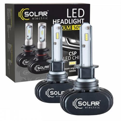 Светодиодные лампы SOLAR H1 12/24V 6000K 4000Lm 50W Seoul CSP (8101)