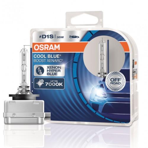 Ксеноновые лампы Osram D1S 35W PK32D-2 COOL BLUE BOOST XENARC (66140CBB-HCB-DUO)