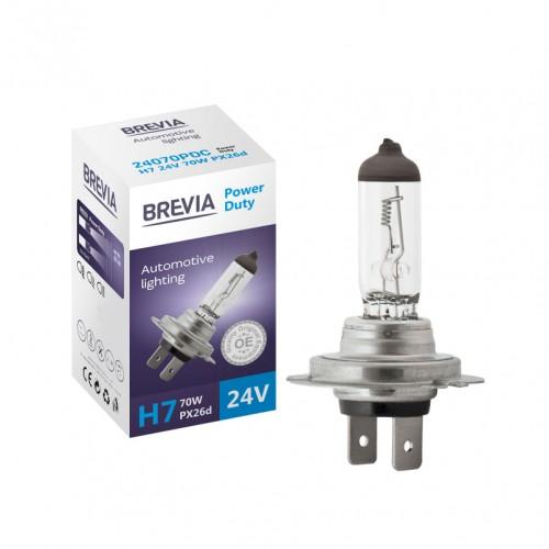 Галогеновая лампа BREVIA H7 POWER DUTY 24070PDC