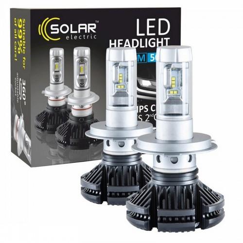Светодиодные лампы H4 Solar 12/24V 6000Lm 50W Philips ZES (8804)