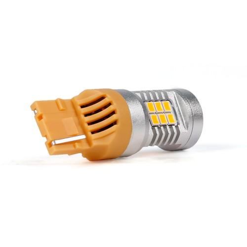 Светодиодные автолампы Carlamp 4G-Series W21W(T20) желтый (4G21/7440Y)