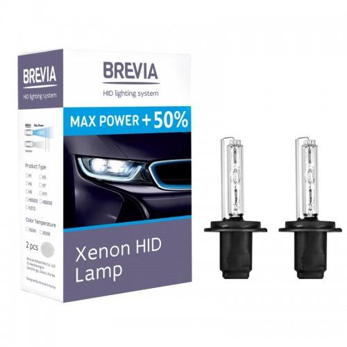 Ксеноновые лампы BREVIA H1 5500K Max Power +50% (12150MP)